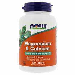 Now Foods Magnesium and Calcium