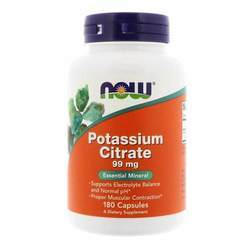 Now Foods Potassium Citrate 99 mg