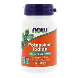 Now Foods Potassium Iodide 30 mg