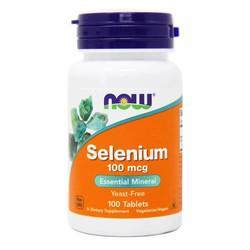 Now Foods Selenium 100 mcg Yeast-Free