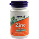 Now Foods Zinc 50 mg