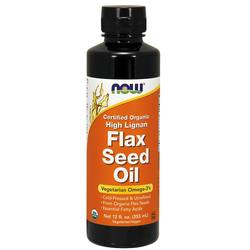 Now Foods High Lignan Flax Seed Oil
