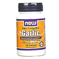 Now Foods Odor Controlled Garlic