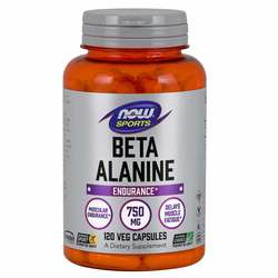 Now Foods Beta-Alanine 750 mg