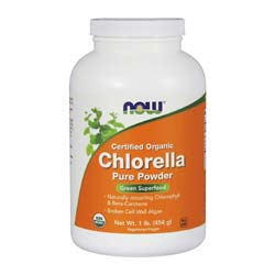 Now Foods Organic Chlorella Powder