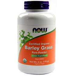 Now Foods Organic Barley Grass