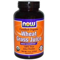 Now Foods Wheat Grass Juice