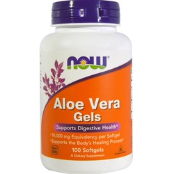 Now Foods Aloe Vera 10-000 mg Equivalency