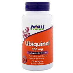 Now Foods Ubiquinol 100 mg