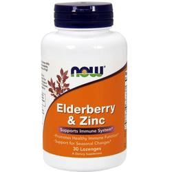 Now Foods Elderberry and Zinc