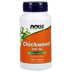 Now Foods Chickweed 400 mg