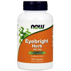 Now Foods Eyebright Herb 410 mg