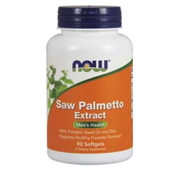 Now Foods Saw Palmetto 80 mg