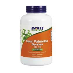 Now Foods Saw Palmetto Berry 550 mg