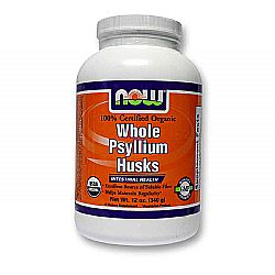 Now Foods Organic Whole Psyllium Husks