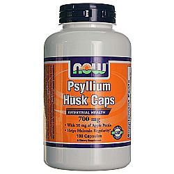 Now Foods Psyllium Husk 700 mg plus Apple Pectin