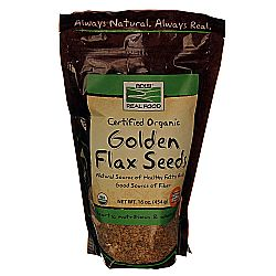 Now Foods Organic Golden Flax Seeds