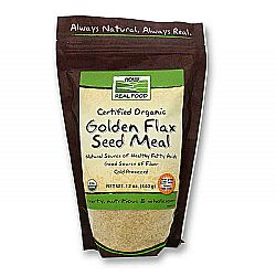 Now Foods Organic Golden Flax Seed Meal