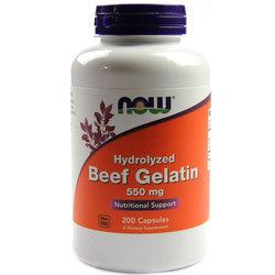 Now Foods Beef Gelatin 550 mg