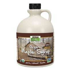 Now Foods Organic Grade B Maple Syrup