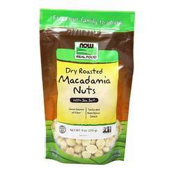 Now Foods Dry Roasted Macadamia Nuts