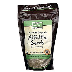 Now Foods Organic Alfalfa Seeds