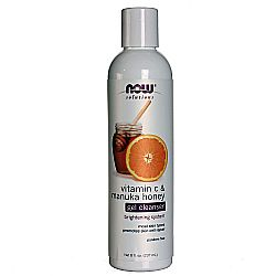 Now Foods Vitamin C and Manuka Honey Gel Cleanser