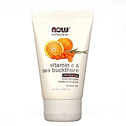 Now Foods Vitamin C and Sea Buckthorn Moisturizer