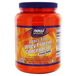 Now Foods Grass-Fed Whey Protein Concentrate