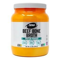 Now Foods Beef Bone Broth Protein Powder