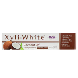 Now Foods XyliWhite Toothpaste Gel Coconut Oil