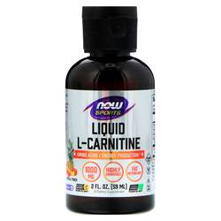 Now Foods Liquid L-Carnitine Tropical Punch
