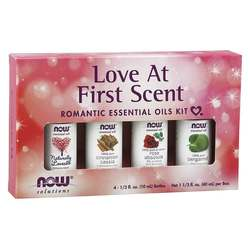 Now Foods Love At First Scent Romantic Essential Oils Kit