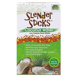 Now Foods Slender Sticks Coconut Water