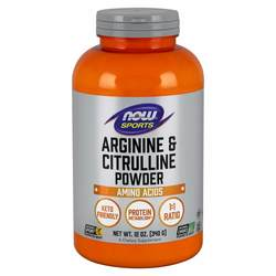 Now Foods Arginine and Citrulline Powder