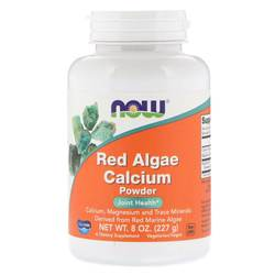 Now Foods Red Algae Calcium Powder
