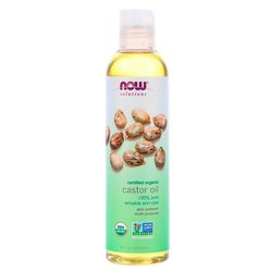 Now Foods Certified Organic Castor Oil