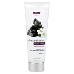 Now Foods Charcoal Detox Facial Mask