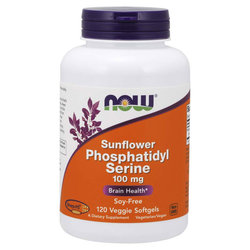 Now Foods Sunflower Phosphatidyl Serine 100 mg