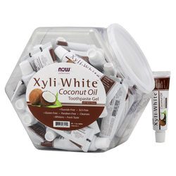 Now Foods Xyliwhite Coconut Oil Toothpaste Fish Bowl