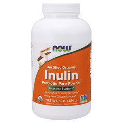 Now Foods Organic Inulin Powder