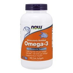 Now Foods Omega 3 Molecularly Distilled