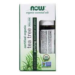 Now Foods Tea Tree Essential Oil Blend Organic Roll-On