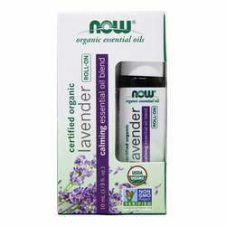 Now Foods Lavender Essential Oil Blend Organic Roll-On