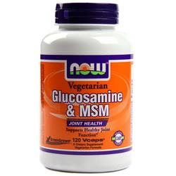 Now Foods Vegetarian Glucosamine and MSM