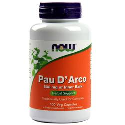 Now Foods Pau D' Arco 500 mg
