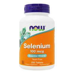 Now Foods Selenium 100 mcg Yeast-Free Selenomethionine