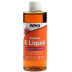Now Foods Natural E Liquid