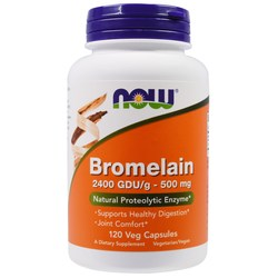 Now Foods Bromelain 500 mg
