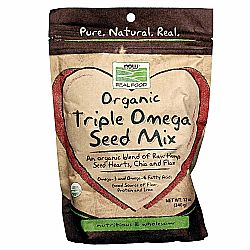 Now Foods Organic Triple Omega Seed Mix